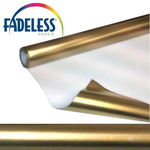 Fadeless Display Paper Gold Colour - 7.5m