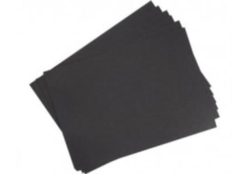 A4 Black Card 100 sheet Pack - 230g