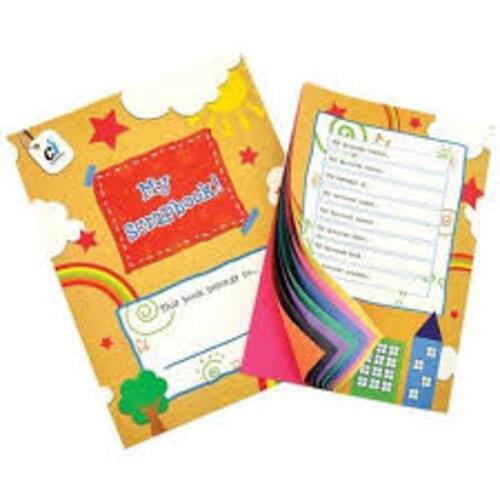 A4 Colourful Scrap Books - 10 Pack
