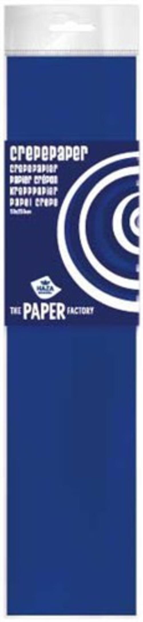 Haza Crepe Paper  - Navy Blue