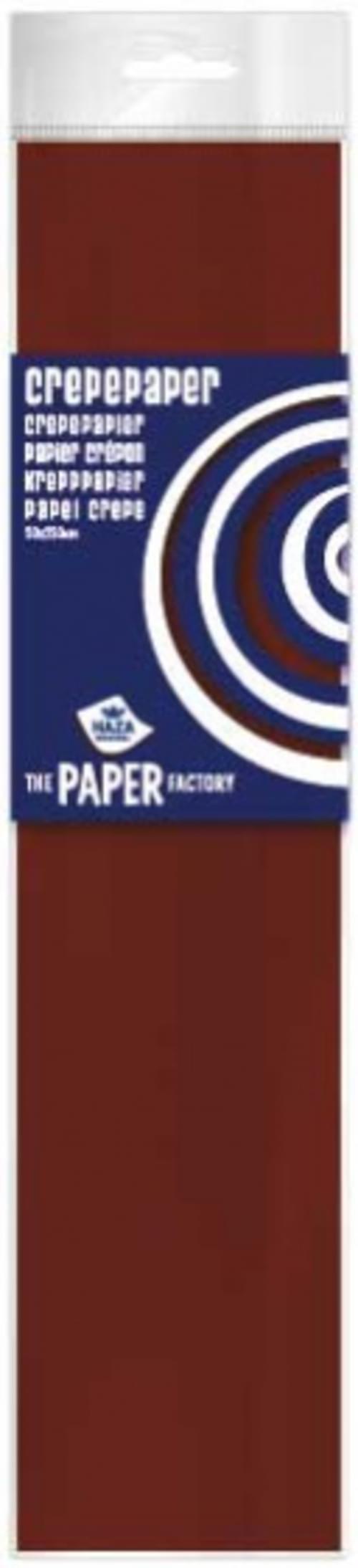Haza Crepe Paper  - Dark Brown