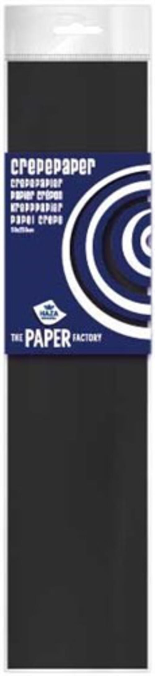 Haza Crepe Paper  - Black
