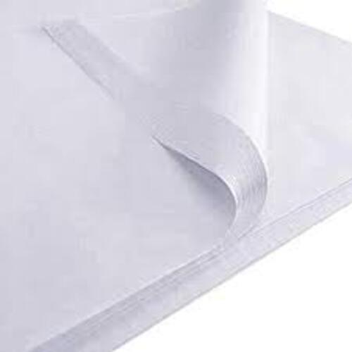 Tissue Paper Single Colour White - 5 Sheets