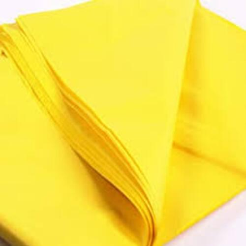 Tissue Paper Single Colour Yellow - 5 Sheets