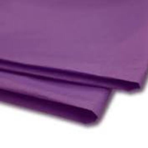Tissue Paper Single Colour Purple - 5 Sheets