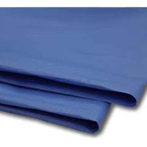 Tissue Paper Single Colour Dark Blue - 5 Sheets