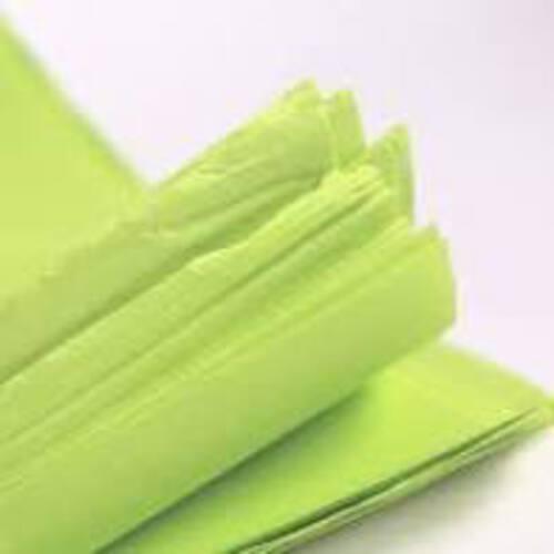 Tissue Paper Single Colour Light  Green - 5 Sheets