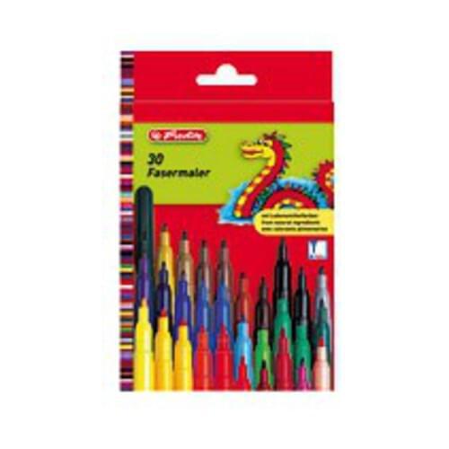 Herlitz Non-Toxic Felt Pens - 6 Pack