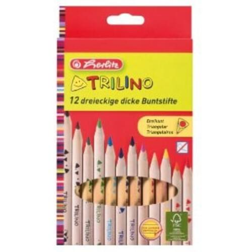 Herlitz Colour Pencils Natural 12pk