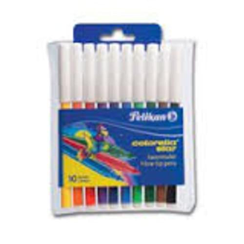 Pelikan Colorella Star Fibre tip pens 10 pk