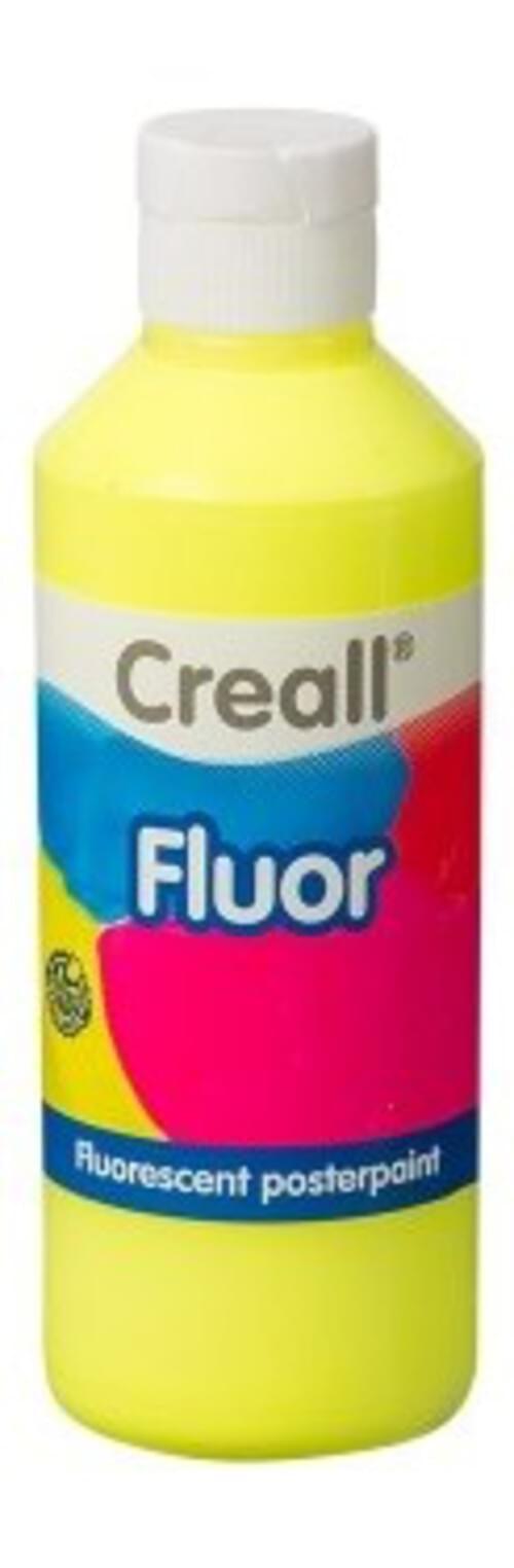 Flourescent Paint 250ml - Yellow