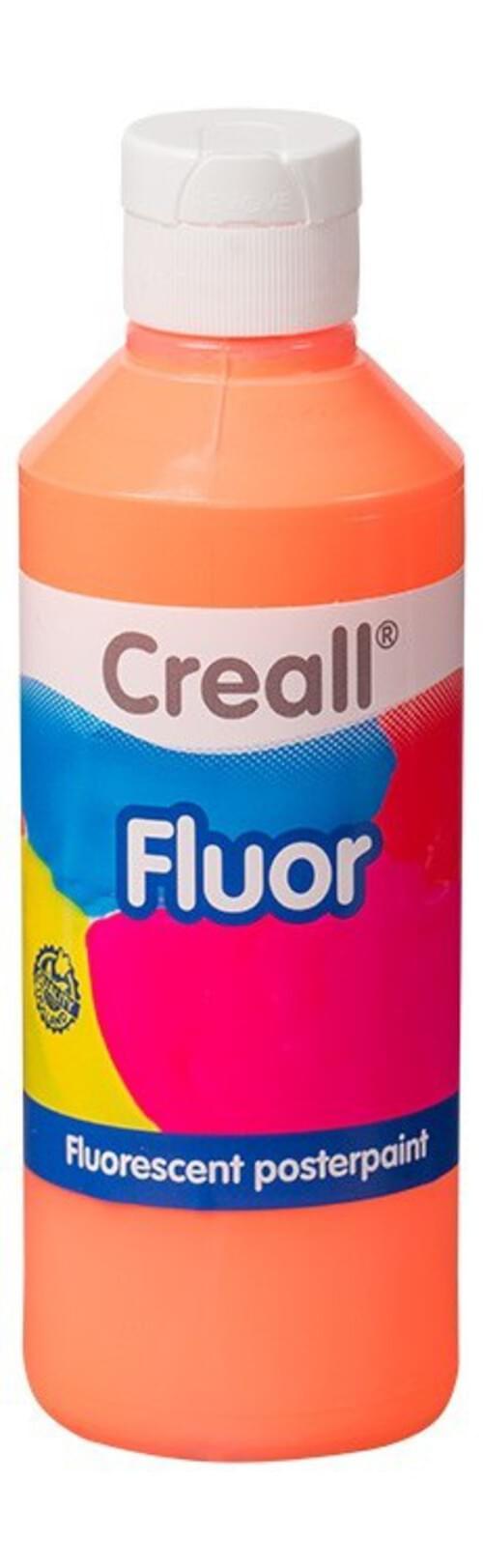 Flourescent Paint 250ml - Orange