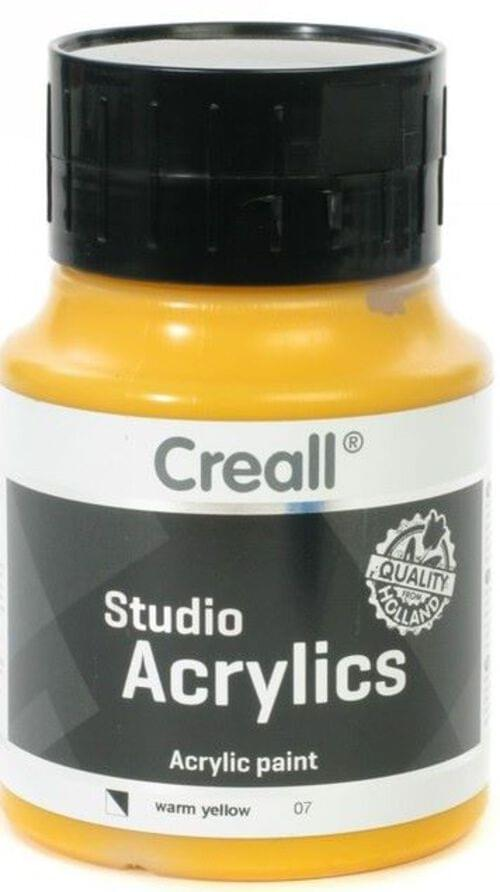 Creall Studio Acrylic 500ml - Warm Yellow