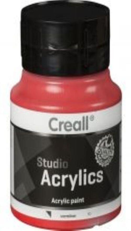 Creall Studio Acrylic 500ml - Madder Red