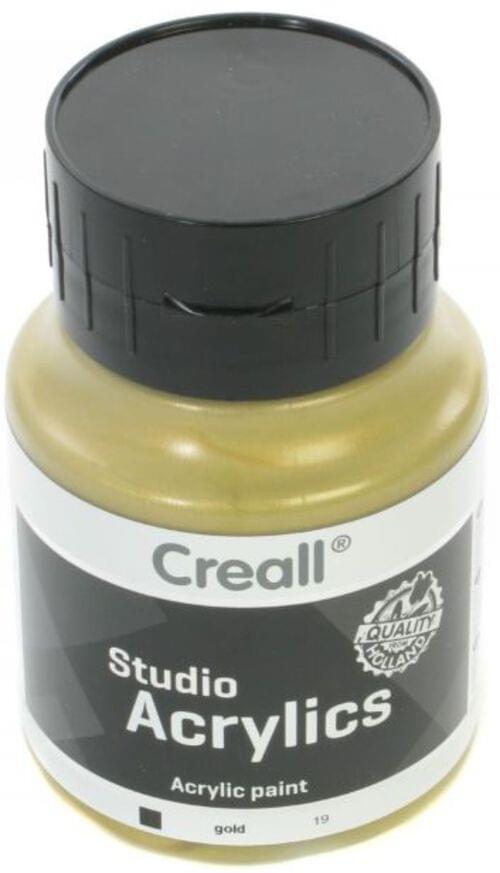 Creall Studio Acrylic 500ml - Gold metallic
