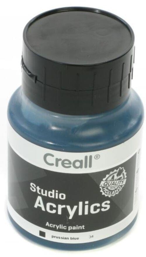 Creall Studio Acrylic 500ml - Prussian Blue