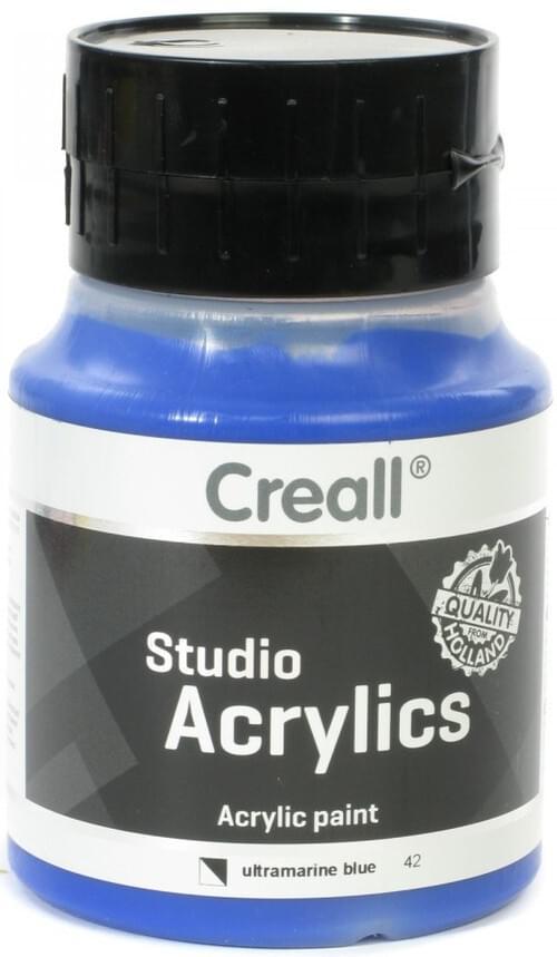 Creall Studio Acrylic 500ml - Ultramarine Blue