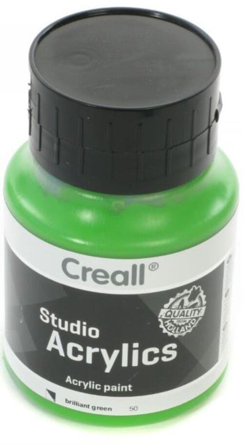 Creall Studio Acrylic 500ml - Brilliant Green