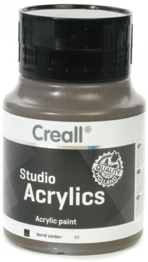 Creall Studio Acrylic 500ml - Burnt Umber