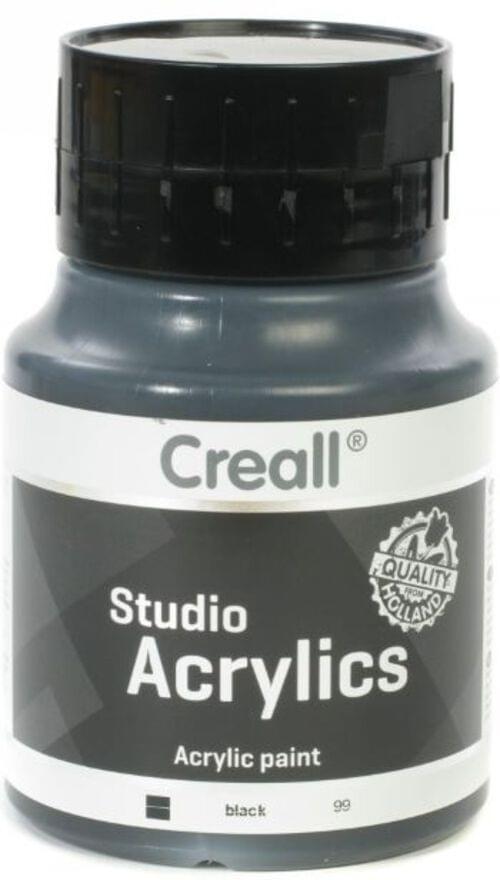 Creall Studio Acrylic 500ml - Black