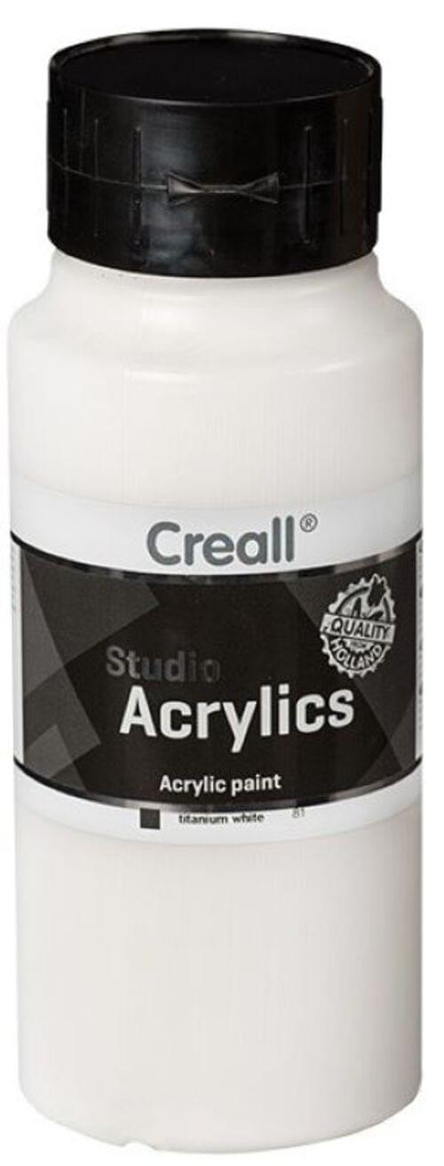 Creall Studio Acrylic 1000ml - White
