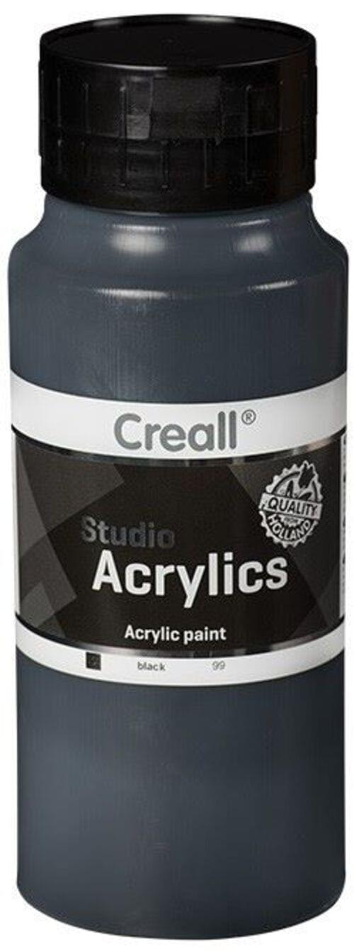Creall Studio Acrylic 1000ml - Black