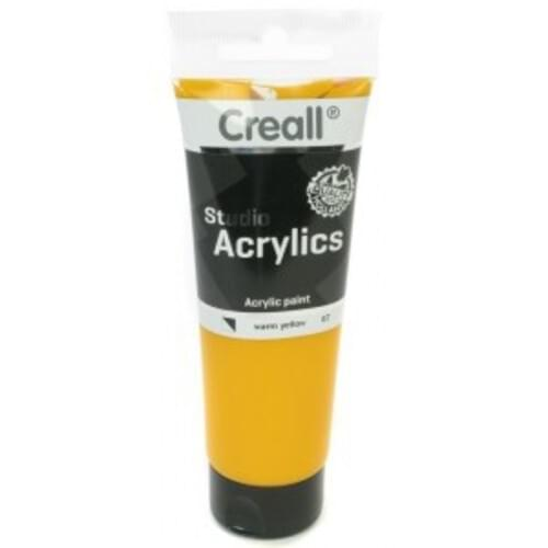 Creall Studio Acrylic 120ml - Primary Yellow