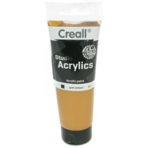 Creall Studio Acrylic 120ml - Gold