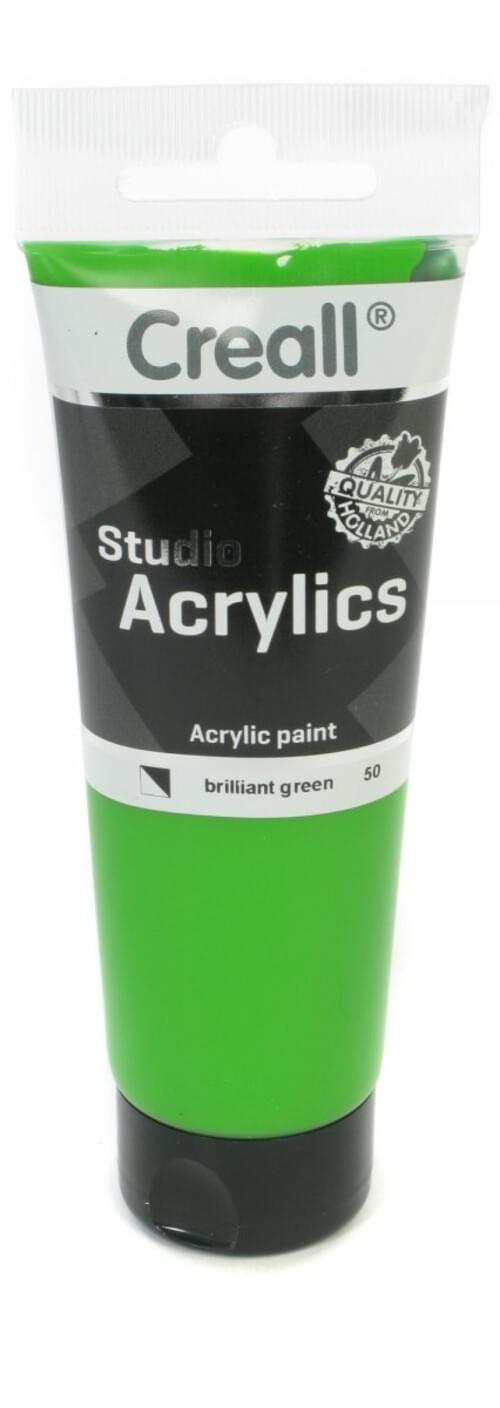 Creall Studio Acrylic 120ml - Brilliant Green