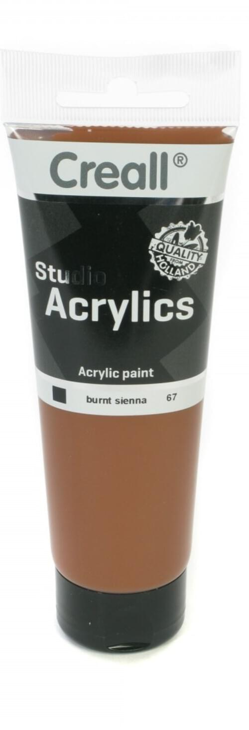 Creall Studio Acrylic 120ml - Burnt Sienna