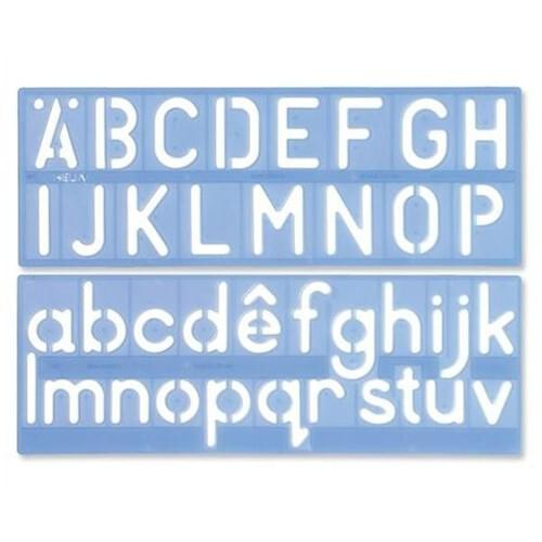 Sign Writing Kit - Upper and Lower Case - 50mm