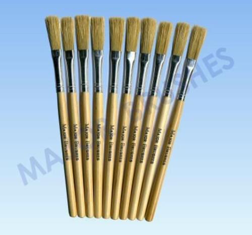 "Dowel Handle Paste Brush 170mm 1/4""  - 10 pack"