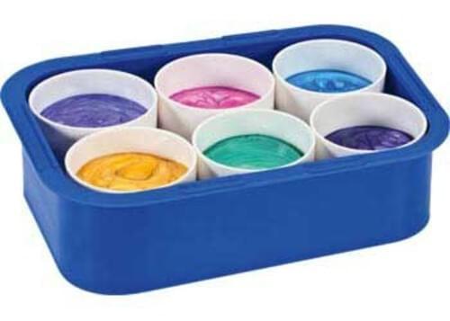 Six Pot paint Pot Tray
