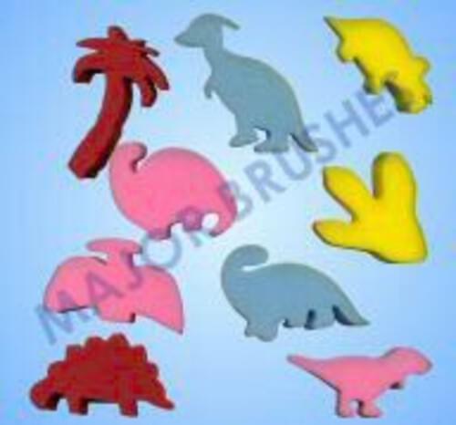 Dinosaur Sponges - Set of Nine