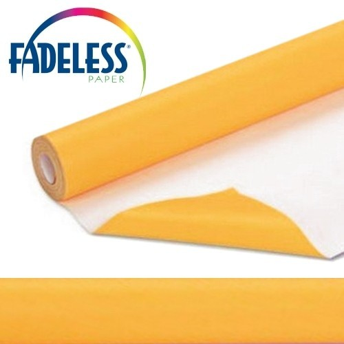 Fadeless Display Paper Sunset Gold Colour - 15m