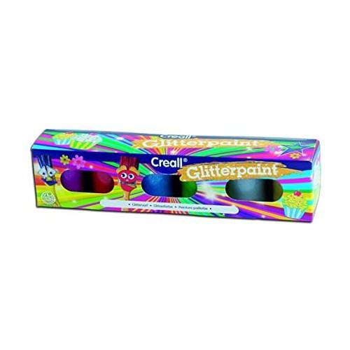 Creall Glitterpaint Set 6x 20ml Assorted