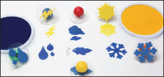 Paint Stamps
