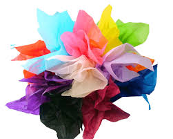 Tissue  Paper - Assorted Colour Packs