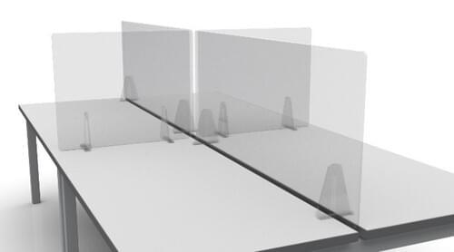 Defender Free Standing Acrylic Screen. 900 x 800.