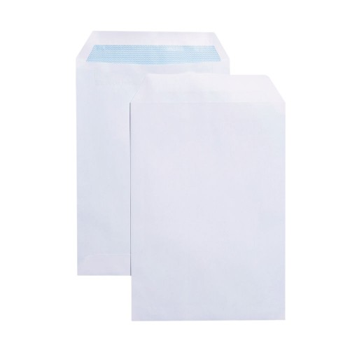 Envelopes White C5 S/Seal Pk500