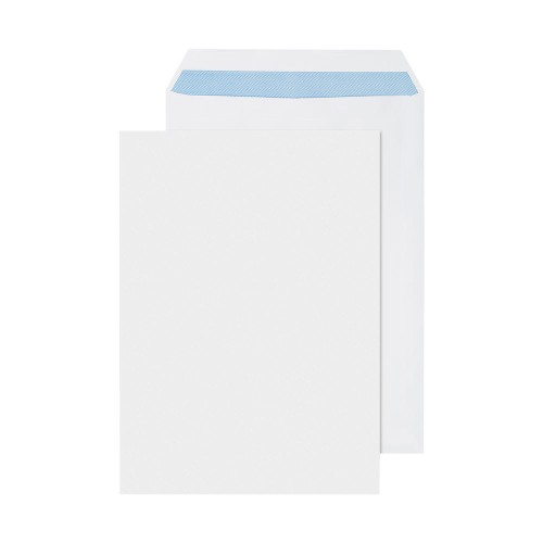 Envelopes White C4 90gsm  Self Seal  P250