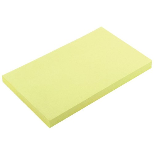 Repositionable Note Yellow 75x125mm Pk12