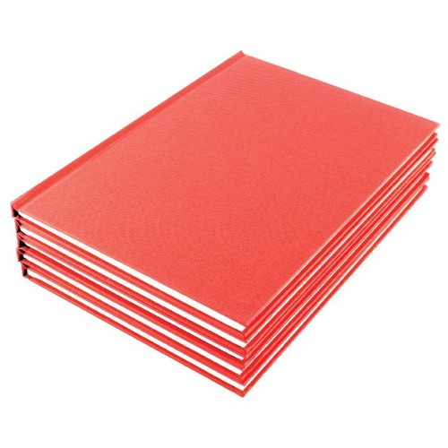 Manuscript Book A5 Ruled Feint Pk10