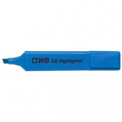 Highlighter Pens HiGlo Blue PK10