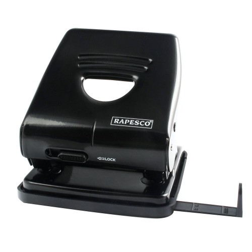 Hole Punch Heavy Duty Black