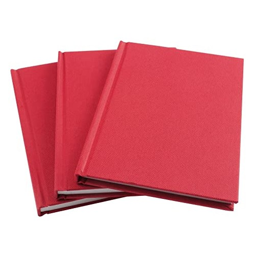 Manuscript Book A6 Feint Ruled Pk10