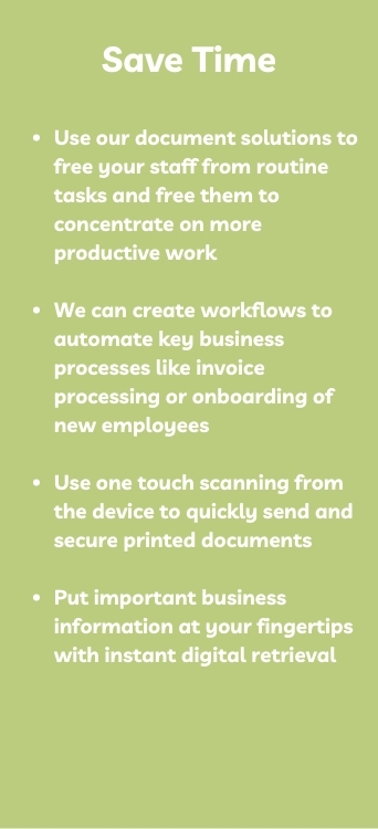Document Solutions To Save Time