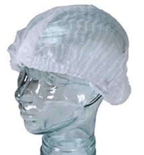 Mob Cap Disposable White