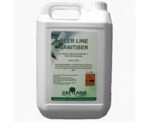 Beer Line Sanitiser Clear 5ltr