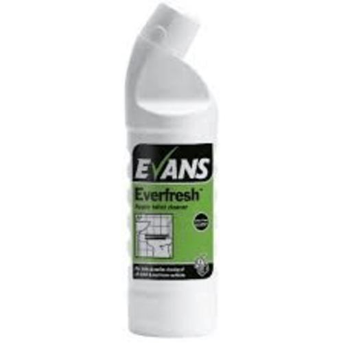 Evans Everfresh Apple Toilet Cleaner 1 Ltr
